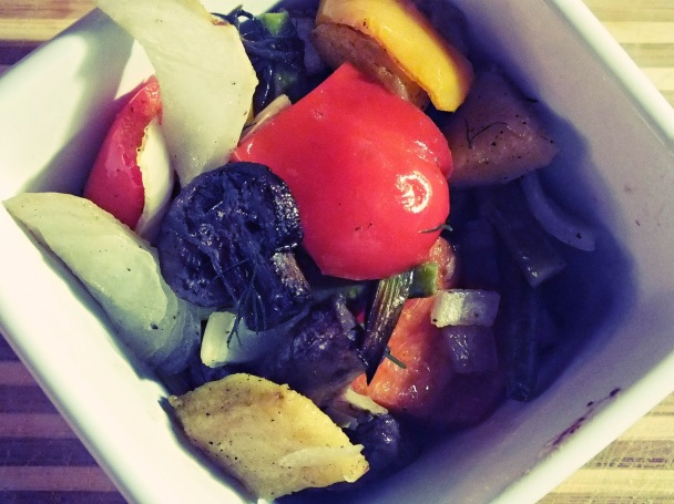 roasted vegetable medley | thecreolewoman.com
