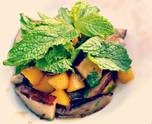 Mango and Portabella Mushrooms | thecreolewoman.com