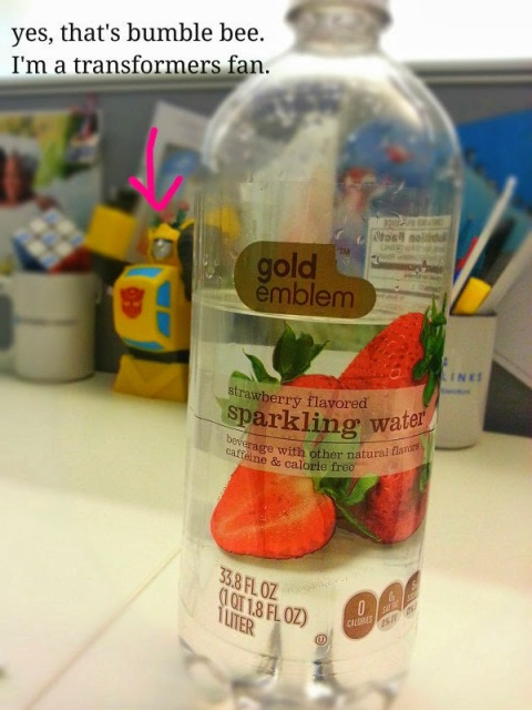 Gold Emblem Sparkling Water | thecreolewoman.com