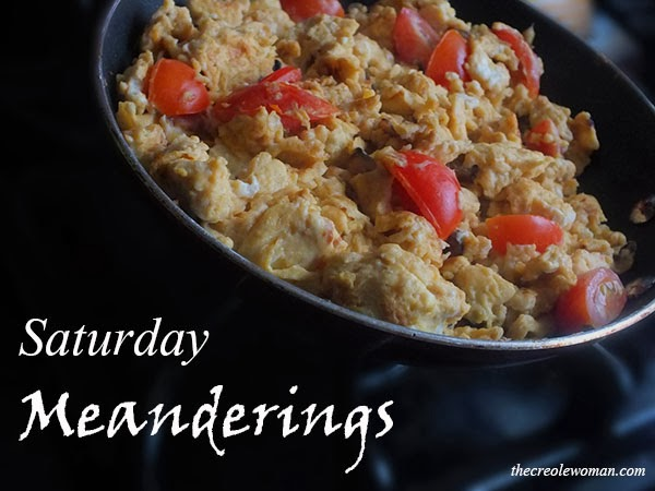 Saturday Meanderings | Eggs and Bacon | thecreolewoman.com