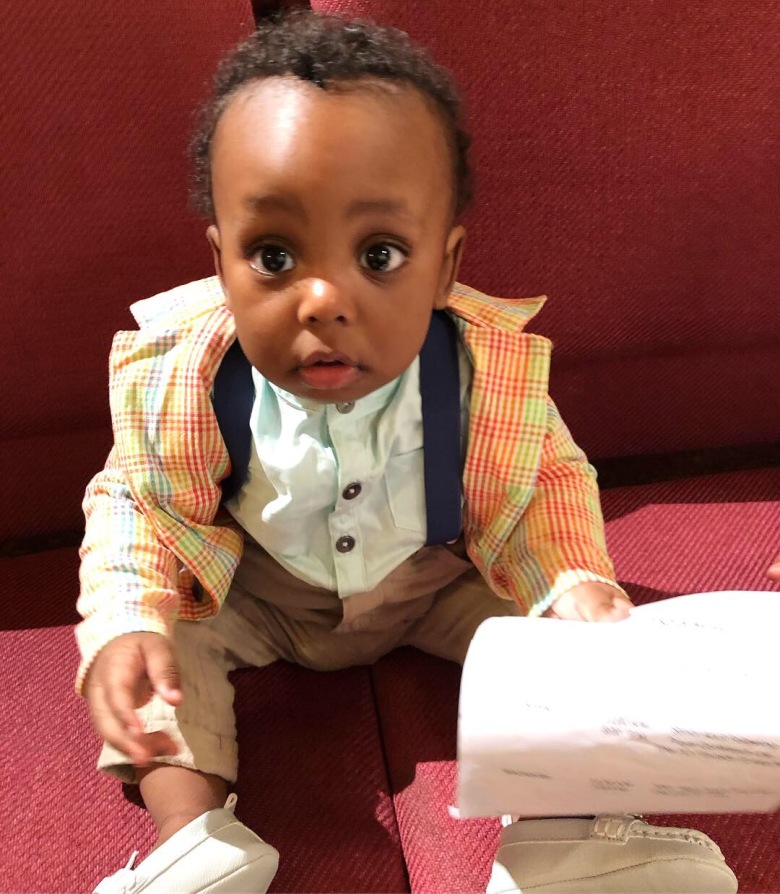 First Easter Suit 🤗😍🥰👌🏾✅